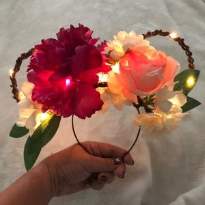 Accessories - Handmade Floral Ears